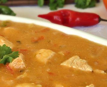 Sopa de Frango Picante