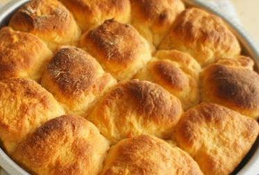 Pão de Batata Doce para Lanche