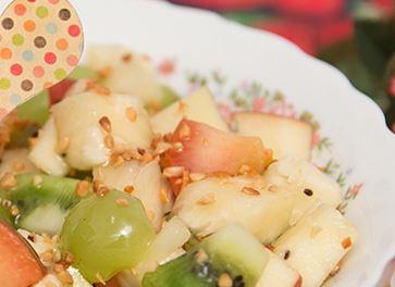 Salada de Frutas com Mel e Limão