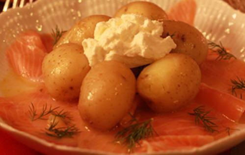 Salada de Salmão com Batatas