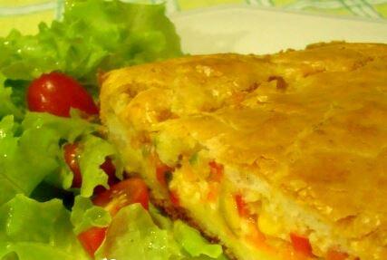 Torta Salgada Vegetariana