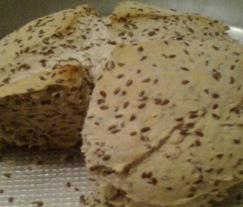 Pão de Linhaça
