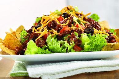Salada Mexicana para Jantar