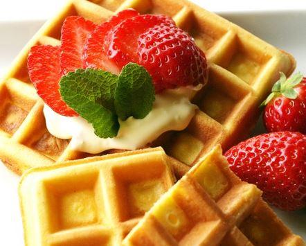 Waffle para Lanche