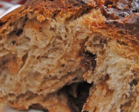 Pão de Chocolate e Ameixa