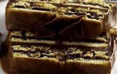 Pavê de biscoito passatempo