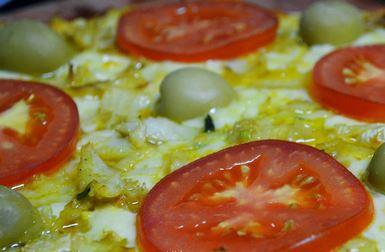 Pizza Bacalhau Aperitivo
