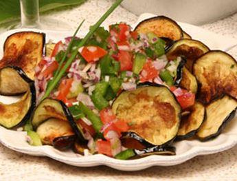 Salada de Beringela Frita