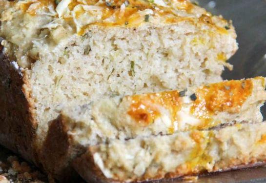Pão com Ervas e Iogurte