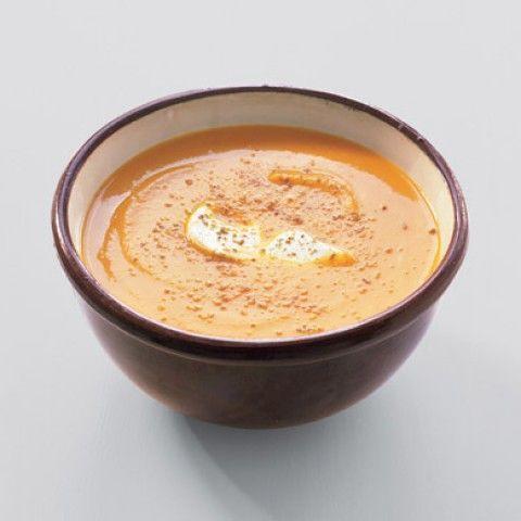 Sopa de Cenoura Marroquina