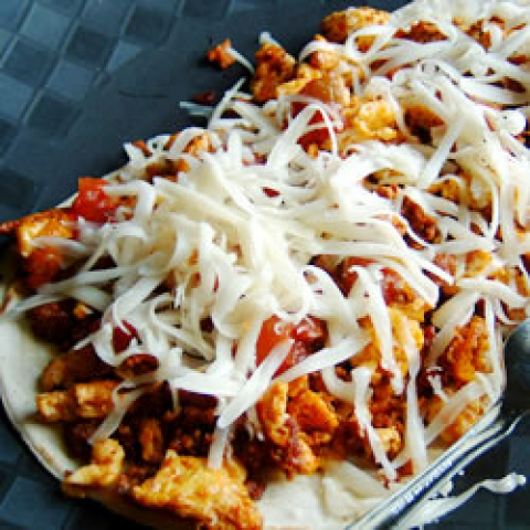 Tacos mexicanos autênticos