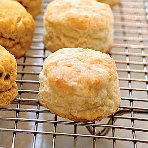 Biscoitos de leite coalhado