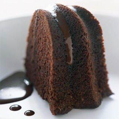 Bolo de chocolate de panela