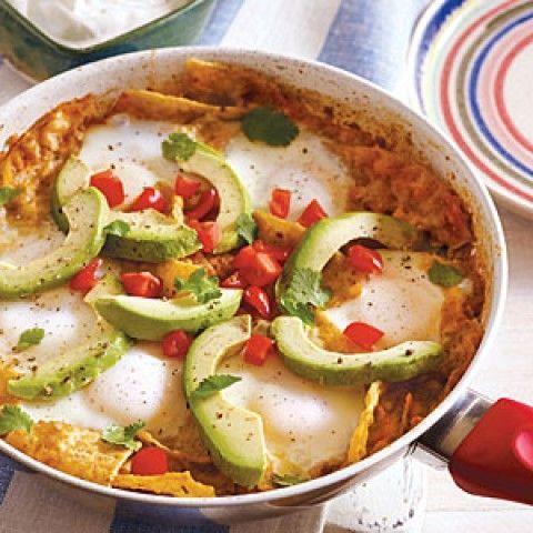 Chilaquiles e Ovos