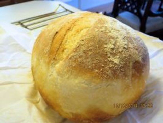 Pão duro caseiro