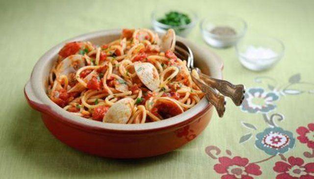 Espaguete Vongole