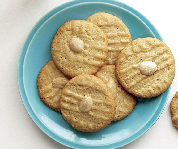 Biscoitos de manteiga e amendoim