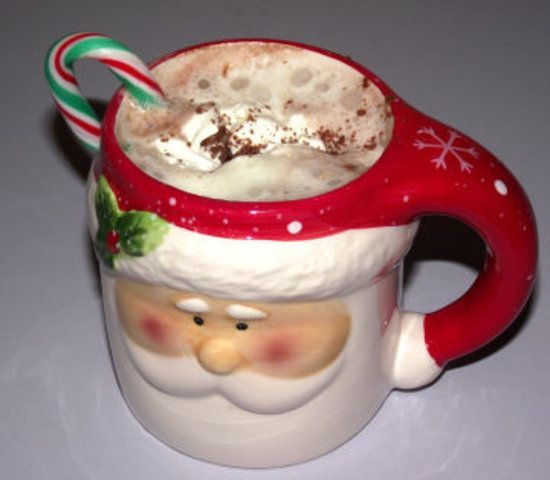 Chocolate quente de Natal