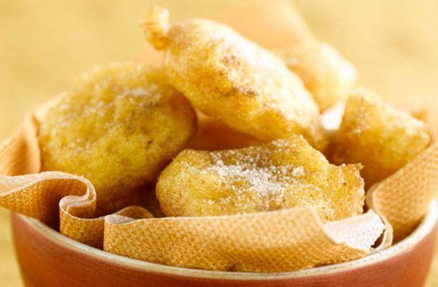 Abóbora frita crocante