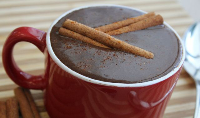 Chocolate quente mexicano