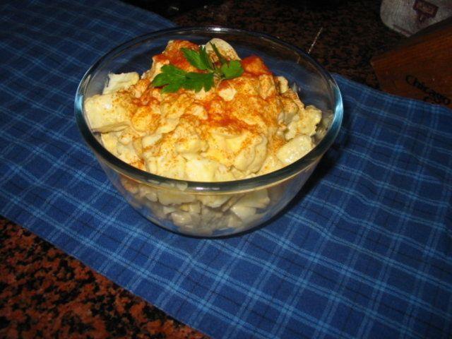 Salada de batata clássica do Mizz