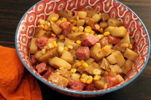Batatas Kielbasa