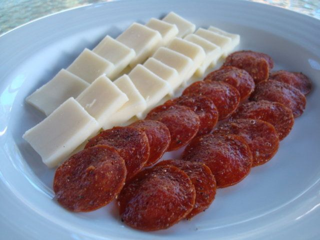 Chips de pepperoni