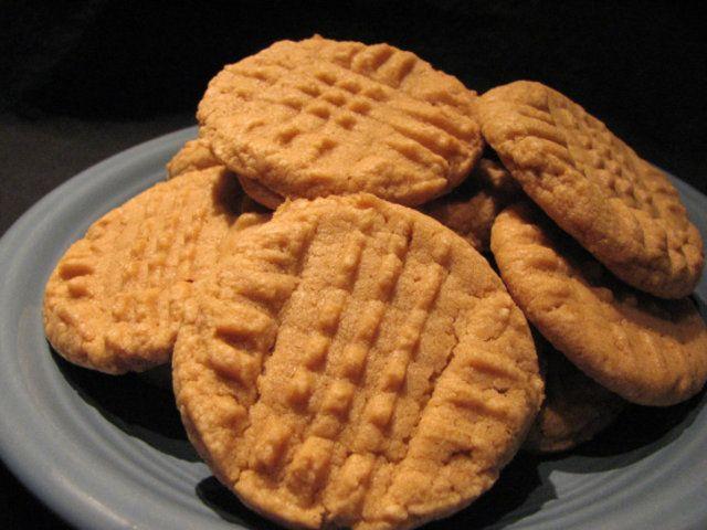 Biscoitos de amendoim