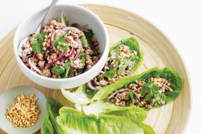 Salada de carne de porco