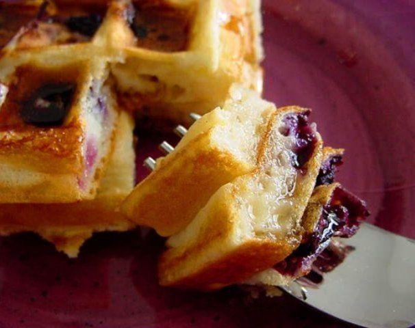 Waffles clássicos belgas