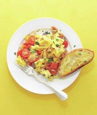 Ovos mexidos incrementados
