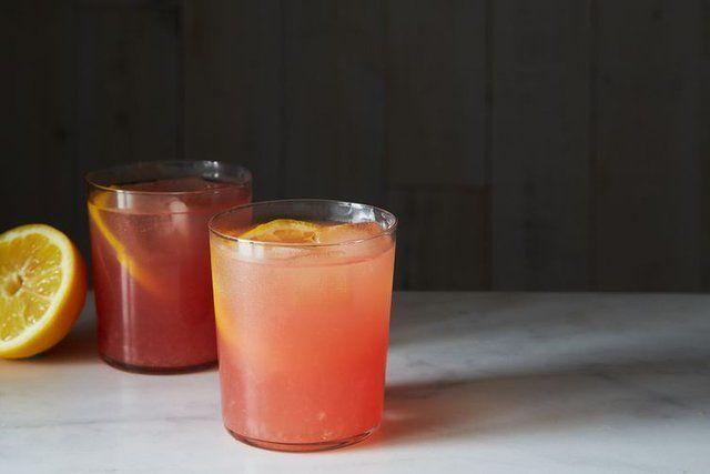 Suco de melancia azedinho