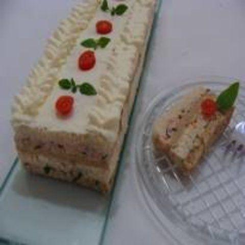 Torta fria de natal