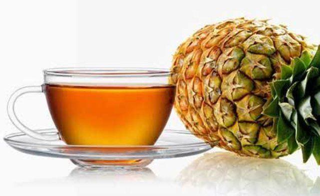 Chá de Abacaxi com Cravo e Canela