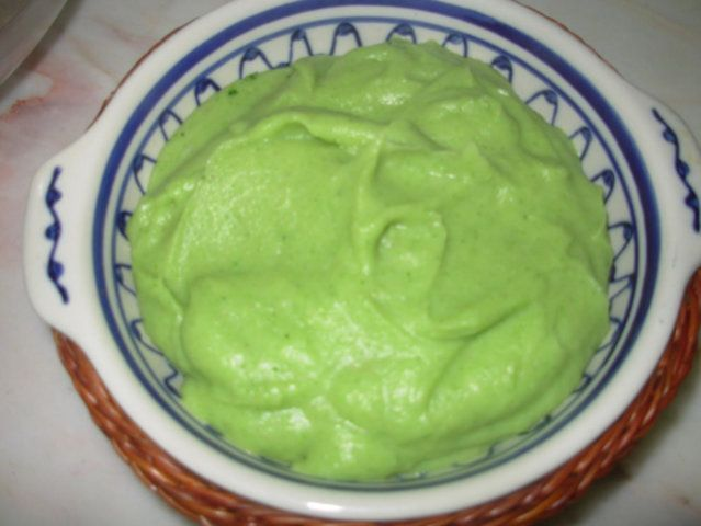 Purê verde