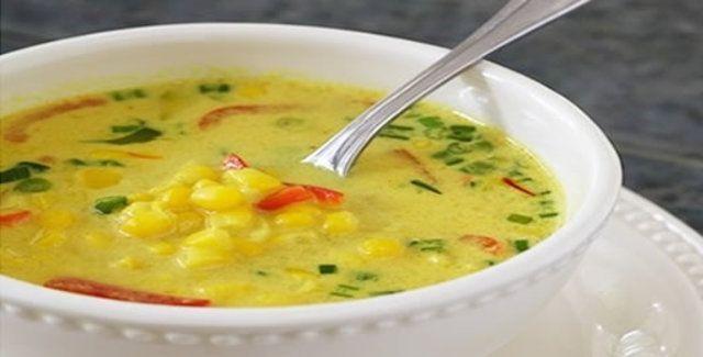 Sopa de milho simples