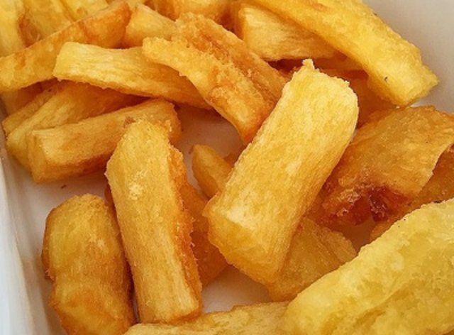 Mandioquinha frita